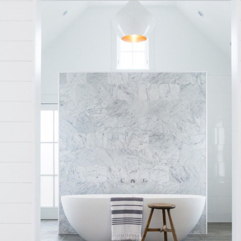 The Home Designs Of Italy Bianco Carrara White Marble
