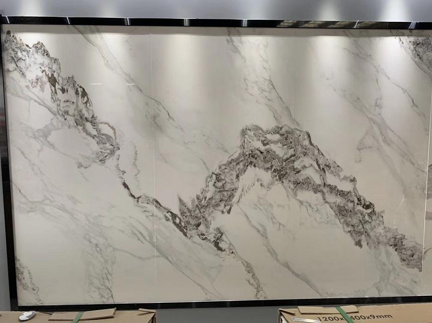 Carrara White Sintered Stone Tiles