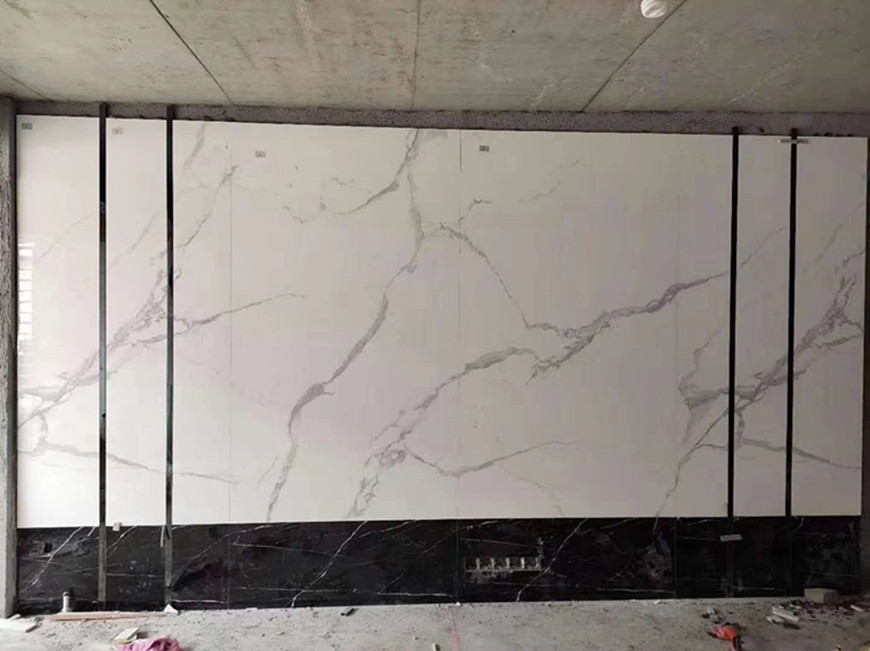Sintered marble