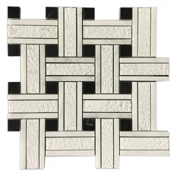 Buy Best Calcite East white marble mosaic sheet With Factory Price