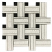 Calcite East white marble mosaic sheet