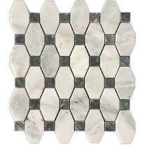 greek white marble mosaics sheet