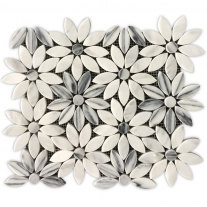 Durable Oriental White Mosaic