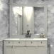 Bianco Carrara White  polished wall tiles for Bathroom