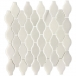 Acid-Proof Vase Shape White Carrara Marble Mosaic Tile