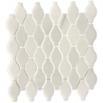 white and mosaic bathroom jardiniere shape