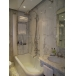Gold marble tile for bathroom