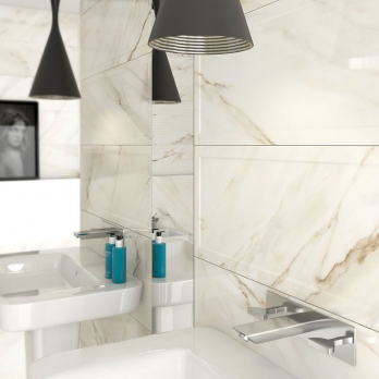 italian white carrara polished marble wall tiles