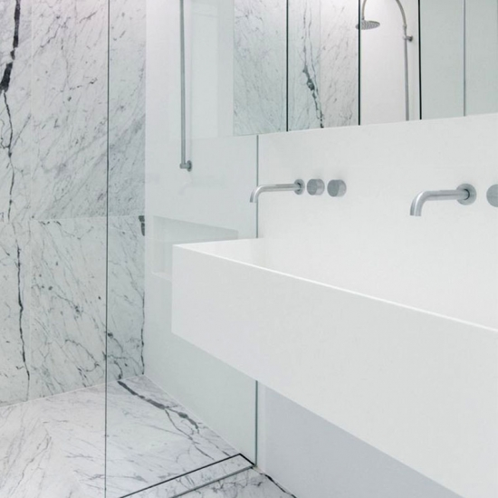 White Marble Bathroom Tile: Best Carrara Marble Bathroom,carrara Marble Bathroom
