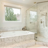 carrara marble bathroom polished carrara marble backsplash