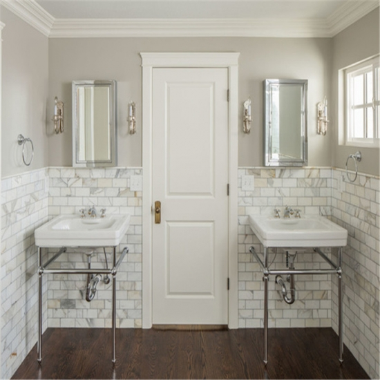 Calacatta Marble Bathroom: Best Polished Subway Tiles Calacatta Oro Marble For