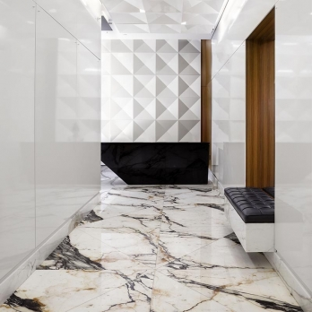 Polished calacatta marble Oro