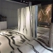 Panda white marble tiles for hotel lobby flooring