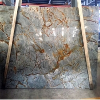 Buy Best Dream Roma,Blue Roma Quartzite Slab With Factory Price