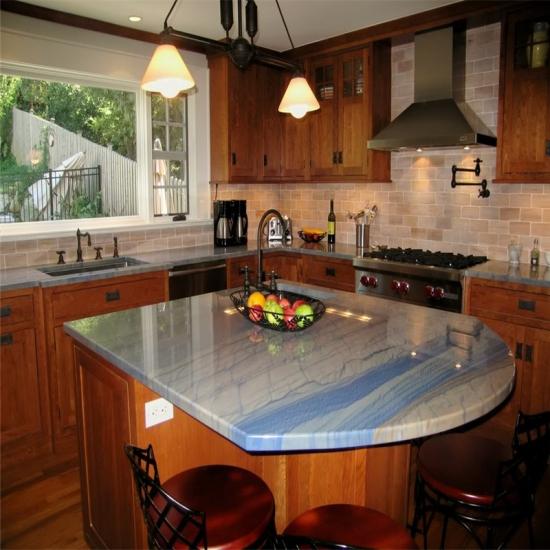 Best Kitchen Benchtop Azul Macaubas Blue Granite,Kitchen