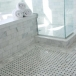 Bathroom honed natural marble tiles