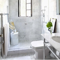 marble subway tile for bathroom