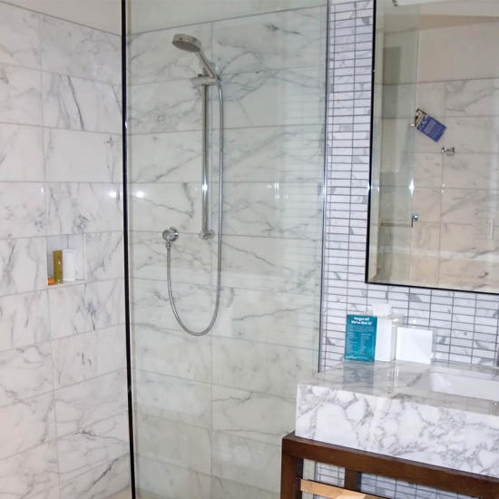 Countertop Vanity Top Bathroom Snow White Carrara Marble
