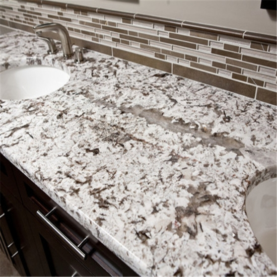 ... Customized Kitchen Countertop Bianco Antico Granite ...
