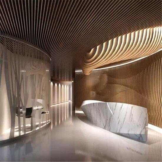 Best Customizd White Marble Company Reception Desk,Customizd
