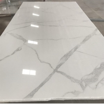 Carrara look crystallized marble