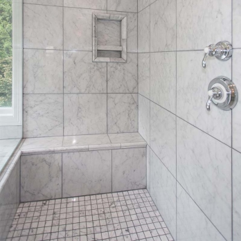 Buy Best Bianco Carrara Marble Tiles with polishes surface With Factory Price