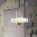 Marble lamp fitting with hung light
