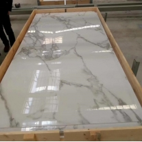 Carrara White Sintered Stone Slabs